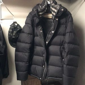 Burberry bubble coat
